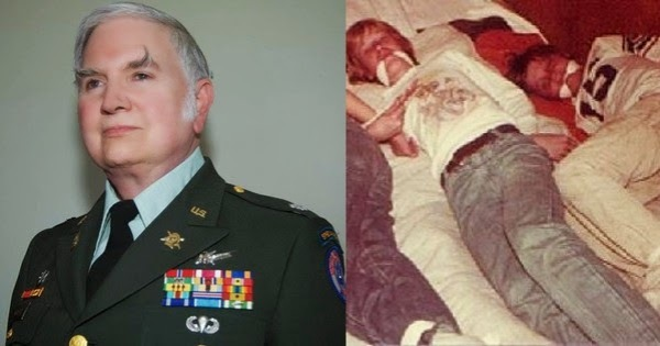 350 cases of pedophilia across 30 military bases, NSA general and founder of the temple ofoSet, Michael aquino.