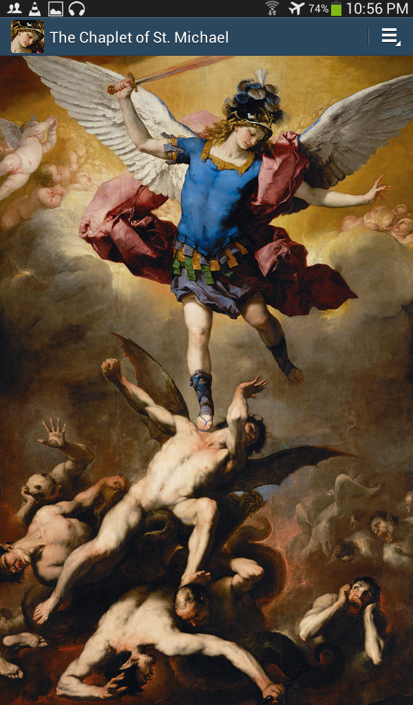 The archangel Michael. Because, really.....WHO LKIE GOD???