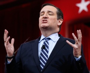 TED CRUZ FEELING THE THRILL OF DEVIL WORSHIPPING. REALLY.