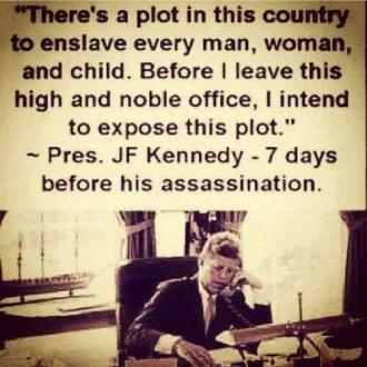 GEORGE HW BUSH LED THE ASSASSINATION OF JFK.